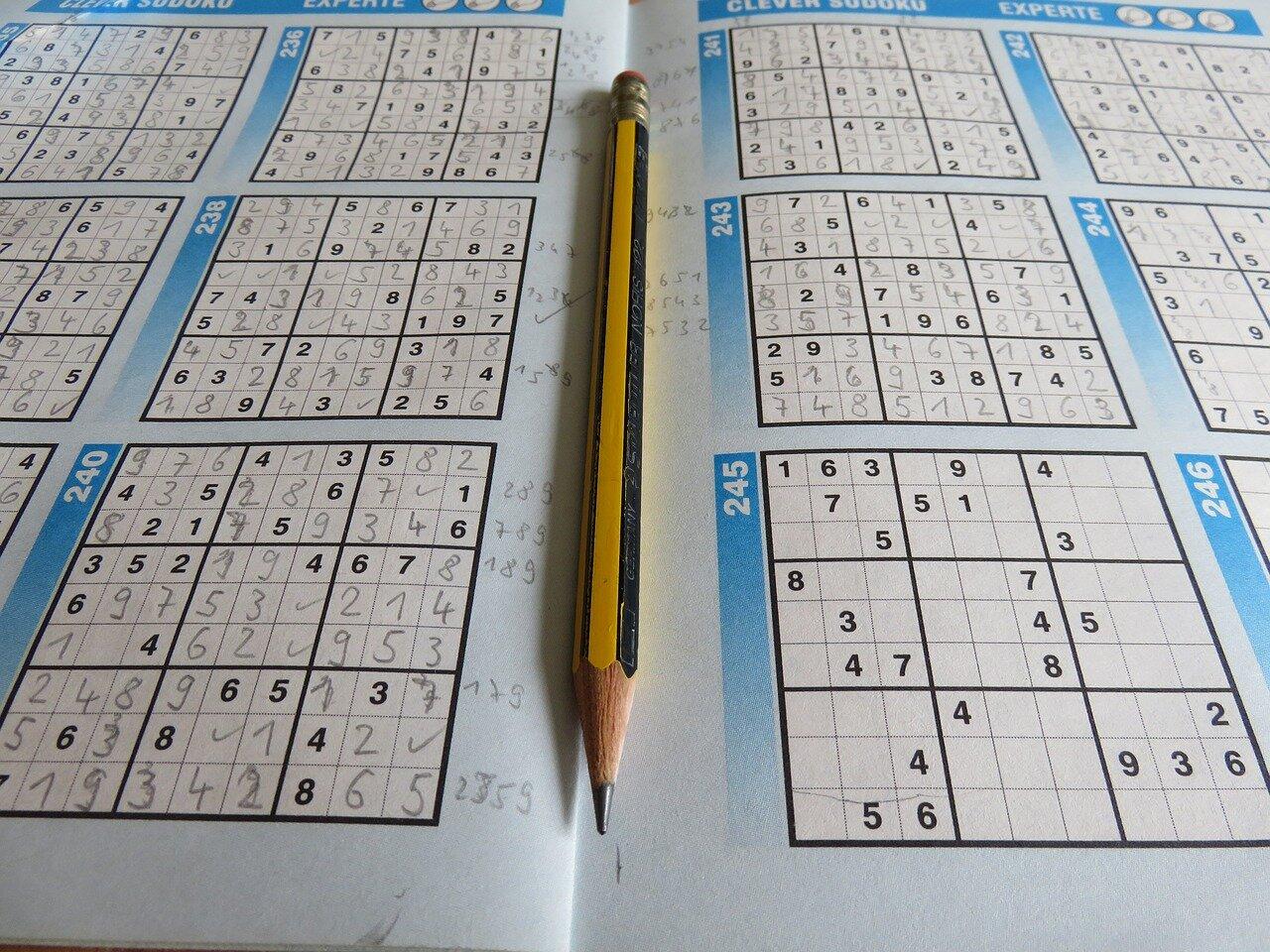 Łamigłówka Sudoku. Sudoku zasady